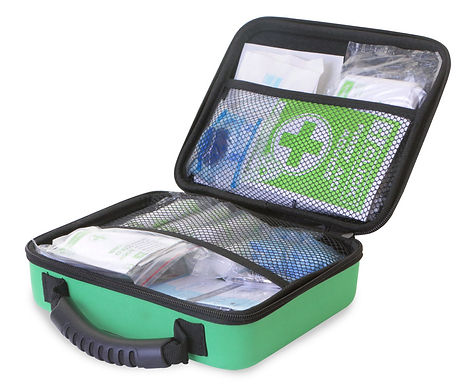 CLICK MEDICAL BS8599-1 SMALL FIRST AID KIT IN MED FEVA BAG