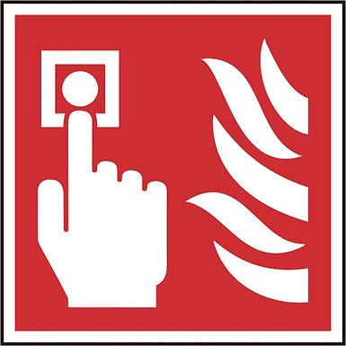 FIRE ALARM CALL POINT SAV(PK5) 100MM X 100MM