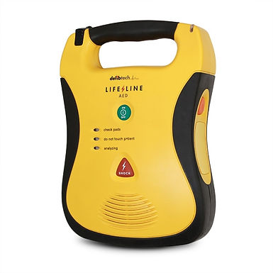 LIFELINE AED SEMI AUTOMATIC DEFIBRILLATOR