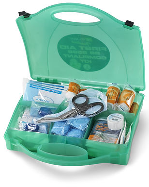 CLICK MEDICAL LARGE BS8599 FIRST AID KIT
