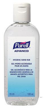 PURELL ADVANCED HYGIENIC HAND RUB OVAL 24 X 100ML