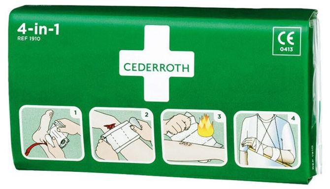 CEDERROTH 4 IN 1 BLOODSTOPPER