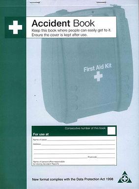 SFA ACCIDENT BOOK DPA COMPLIANT (Q3200)