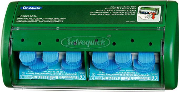 SALVEQUICK PLASTER DISPENSER 70 BLUE