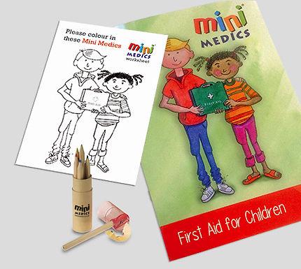 MINI MEDICS KIDS FIRST AID PACK/PENCIL
