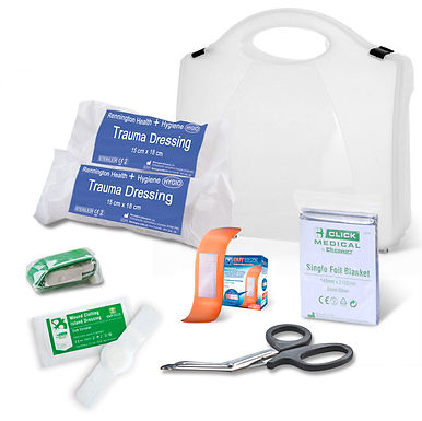 BS8599-1:2019 CRITICAL INJURY PACK LOW RISK IN BOX