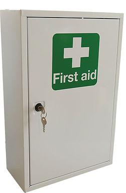 SINGLE DOOR METAL FIRST AID CABINET