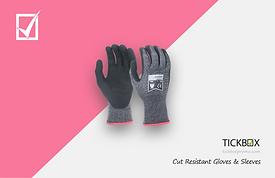 Header Page - Cut Resistant Gloves & Sle