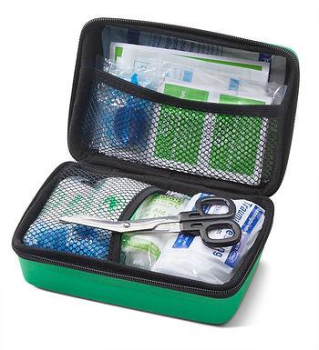 CLICK MEDICAL BS8599-2 MEDIUM TRAVEL KIT IN SMALL FEVA BAG