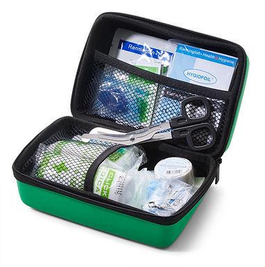 CLICK MEDICAL BS8599-1 TRAVEL KIT IN SMALL FEVA BAG