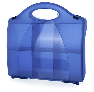 CLICK MEDICAL 861 BLUE ECLIPSE BOX WITH PARTITIONS