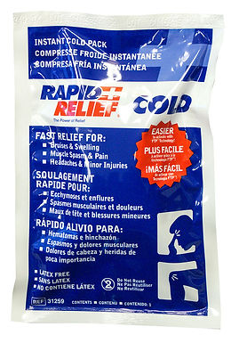 """INSTANT COLD PACK LARGE 5""""x 9"""""""