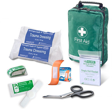 BS8599-1:2019 CRITICAL INJURY PACK LOW RISK IN BAG