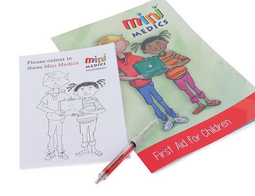 MINI MEDICS KIDS FIRST AID PACK/PEN