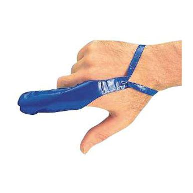 CLICK MEDICAL FINGERSTALL BLUE MEDIUM