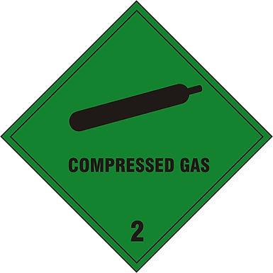 COMPRESSED GAS 2  SAV (PK5) 200MM X 200MM