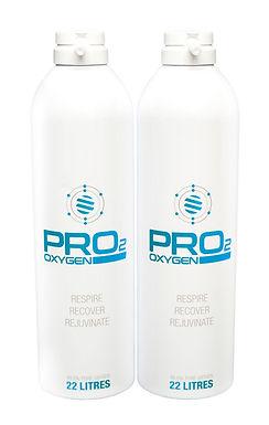 PRO2 OXYGEN REFILLS X 2
