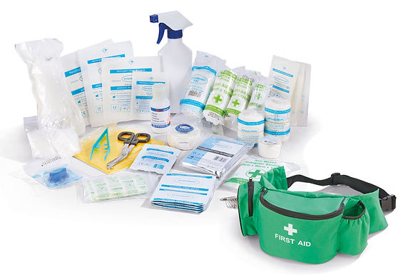CLICK MEDICAL PERSONAL SPORTS KIT IN BUMBAG