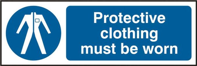 PROTECTIVE CLOTHING RPVC (PK5) 300MM X 100MM