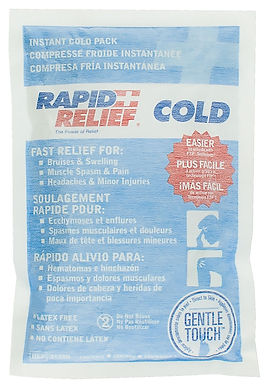 """INSTANT COLD PACK C/W GENTLE TOUCH TECHNOLOGY LARGE 5""""x 9"""""""