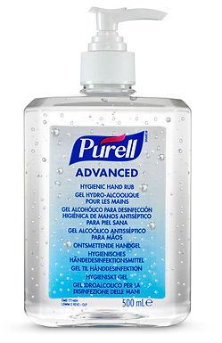 PURELL ADVANCED HYGIENIC HAND RUB 12 X 500ML