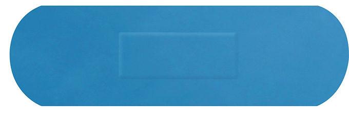 HYGIO PLAST BLUE DETECTABLE PLASTERS SENIOR STRIP