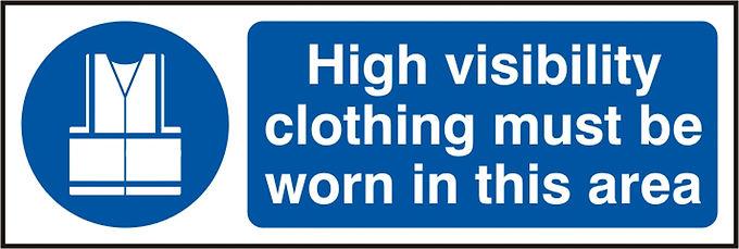 HI VIS CLOTHING  SAV     (PK5) 300MM X 100MM