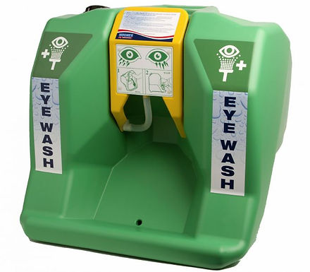 SELF CONTAINED EYEWASH STATION