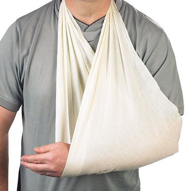 CLICK MEDICAL CALICO TRIANGULAR BANDAGE
