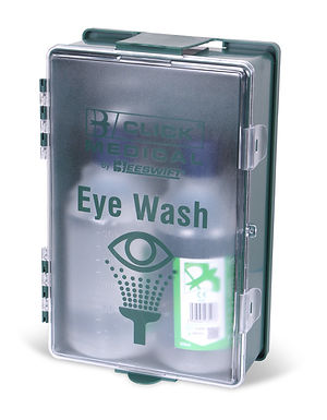 CLICK MEDICAL EYEWASH BOXED STATION 2x500ml