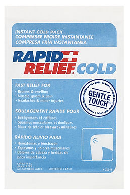 """INSTANT COLD PACK C/W GENTLE TOUCH TECHNOLOGY SMALL 4""""x 6"""""""