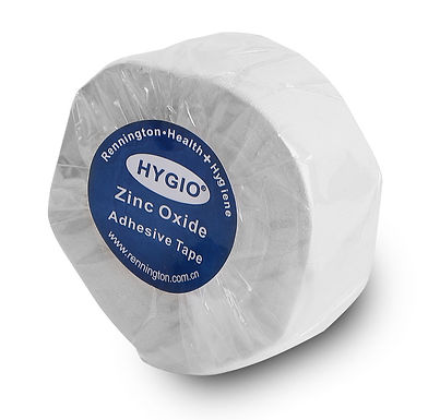 HYGIO TAPE ZINC OXIDE TAPE 2.5cm X 10m