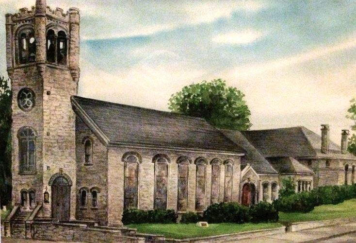Zion Reformed UCC Postcard