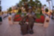Early Walt Disney Statue