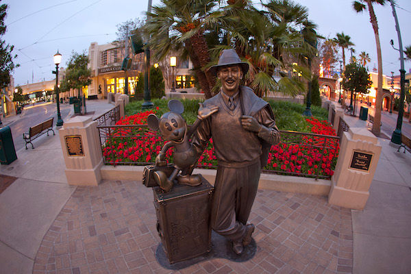 Early Walt Disney Statue