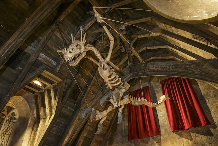 Inside Hogwarts Castle