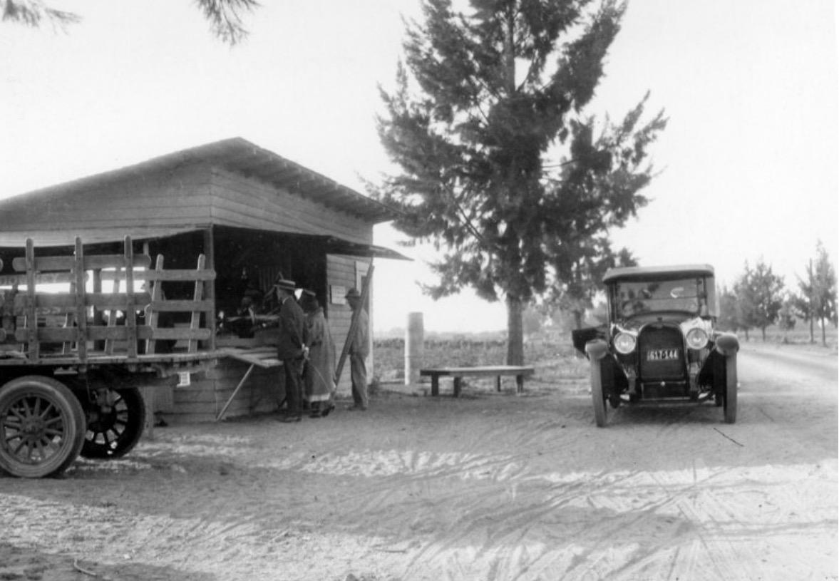Knott's original berry stand 1926