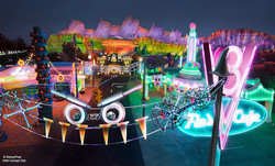 Halloween Time at Cars Land