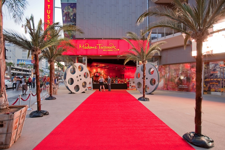 Madame Tussauds Entrance