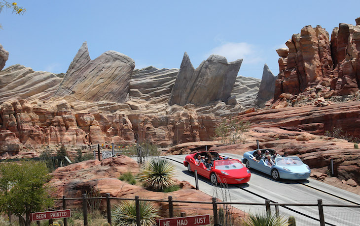 Radiator Springs Racers Cars