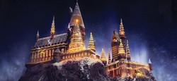 Hogwarts Castle Christmas