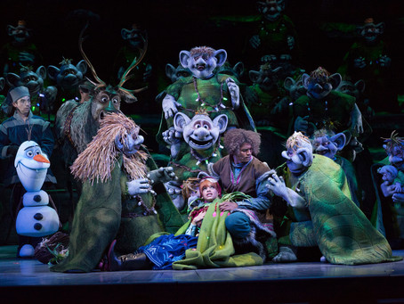 'Frozen – Live at the Hyperion,' a Stage Musical, Presented at Disney California Adventure Park