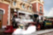 Disneyland Main Street U.S.A. Train Station