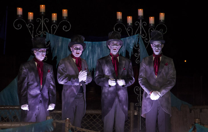 Haunted Mansion Quartet