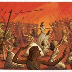 Battle Scene (Roma Aeterna Book)