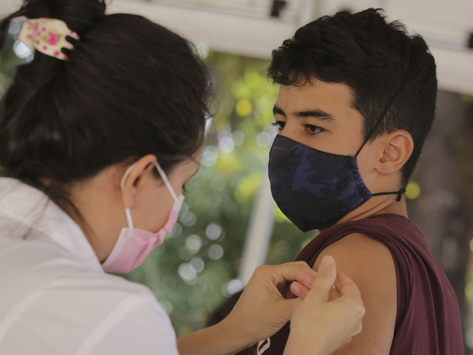 Rio retoma vacinação de adolescentes nesta quarta