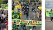 Protesto em Brasília segue padrão de atos antidemocráticos