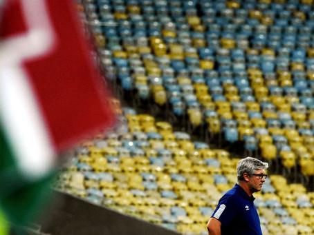 Odair Hellmann larga Fluminense no G6