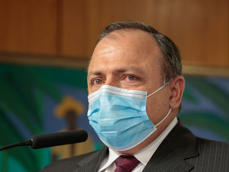 Pazuello anunciou início da vacinação para o dia 20