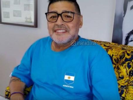 A lenda Maradona: 'Isso me basta e me sobra'